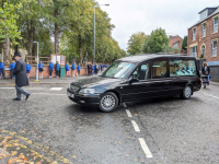 Students Guard of Honour at Funeral of Much-loved Speech and Drama Teacher Anna Brown